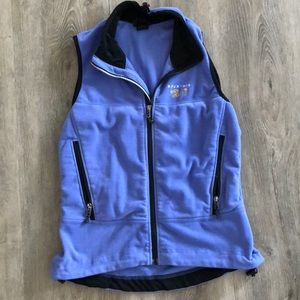 Mountain Hardwear purple vest